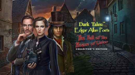 Dark Tales: Edgar Allan Poe - The Fall of the House of Usher на български език